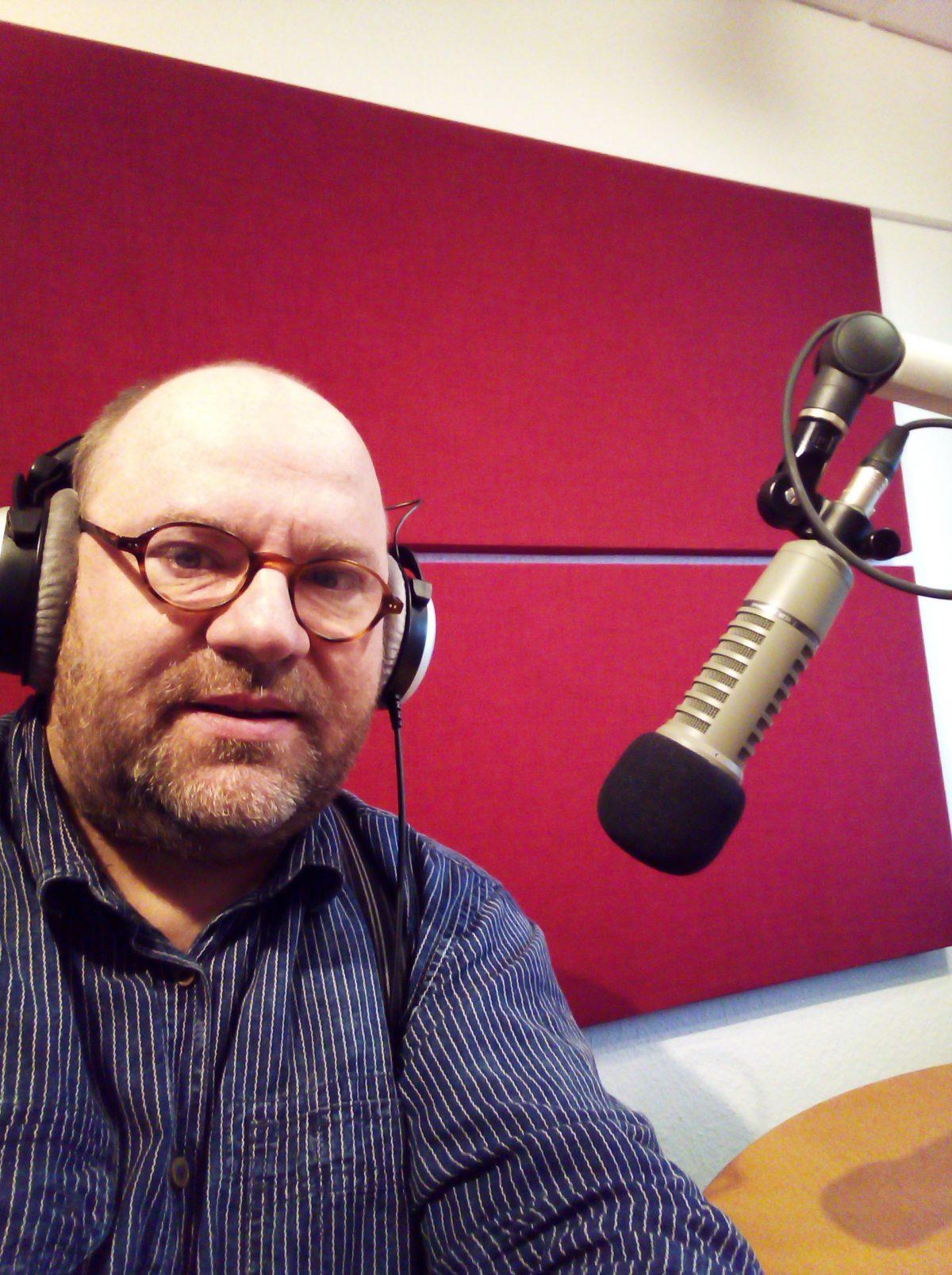 Jan Michaelis arbeitet auch als Radiomoderator.